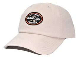 Baltimore Orioles American Needle MLB Oval Logo Adjustable Baseball Cap Dad Hat - $16.14