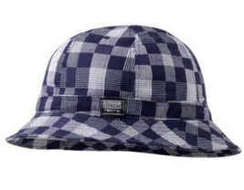 Outdoor Research Misconduct Bucket Hat Blue Plaid Adult OSFA L/XL Brand NEW - $15.84