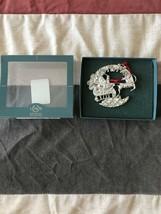 "Lenox Kirk Stieff collection pewter 'Ho Ho Ho"" Christmas Ornament NIB - $12.00"