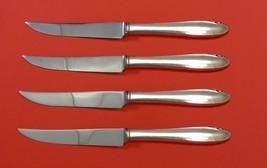 "Lasting Spring by Oneida Sterling Silver Steak Knife Set 4pc HHWS  Custom 8 1/2"" - $247.10"