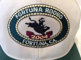 Fortuna Rodeo 2004 Tan & Green Baseball Cap Trucker Hat NEW California V... - $24.98