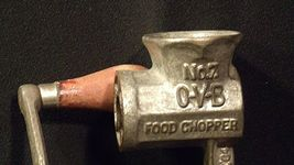 Hibbard Spencer,  Bartlett and Company Chicago, USA # 7 O-V-B Food Chopper  AA20 image 9