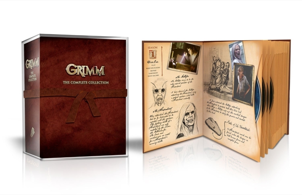 Grimm The Complete Collection Boxset Season 1-6 (DVD 2017 29-Disc) 1 2 3 4 5 6
