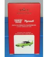 2020 Hallmark Keepsake Ornament 1970 PLYMOUTH SUPERBIRD Classic American... - $34.90