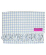 Southampton Home English Stroller Blanket ~ Blue/White Gingham - $39.27