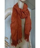 Jones New York Women's Viscose Scarf, Rusty Orange - $9.85
