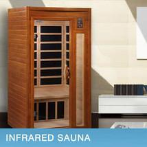 Dynamic Barcelona 2-person FAR Infrared Sauna DYN-6106-01 Factory Shipping - $1,695.00