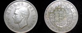 1950 New Zealand Half Crown World Coin - $17.99