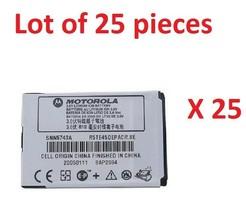 25x Original Motorola Battery SNN5743A for M500 V975 V980 V1050 E770v C975  - $39.59