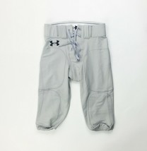Under Amour Youth Boy's Large Football Pant Game Practice Gray - $24.74
