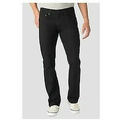 Denizen From Levi's  NEW Men's Black Straight Fit 218 Stretch Jeans -Sizes.NEW !