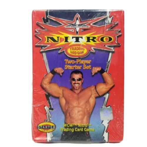WCW Nitro Trading Card Game 2-Player Starter Level Set Original Sealed Box  CC - $12.99