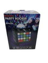 Ion Sound Party Rocker Express Bluetooth Speaker with Lights and Mic Black - $69.29