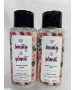 (2) Love Beauty Planet Murumuru Butter & Rose Blooming Color Conditioner... - $8.54