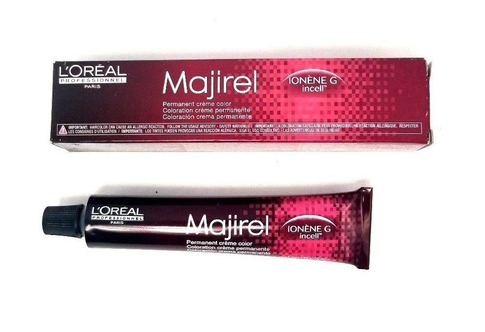 L'Oreal Professional Marijel Permanent Creme Color Ionene G Incell Hair 7.31 7GB