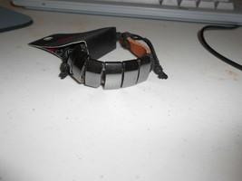 Paparazzi Uniquely Urban Bracelet (New) Brown & Black W/GUNMETAL - $5.88