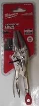 "Milwaukee 48-22-3504 4"" Long Nose Locking Pliers - $10.84"