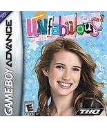 Unfabulous (Nintendo Game Boy Advance, 2006)  Video Game Only - $3.16