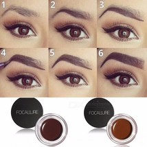 No Shading Durable Eyebrow Pomade Gel, Waterproof Makeup Accessories Eye... - €10,61 EUR
