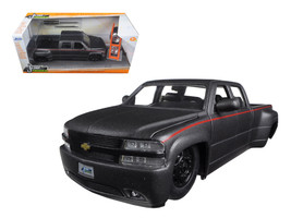 "1999 Chevrolet Silverado Dooley Pickup Truck Matt Grey ""Just Trucks\"" w... - $46.18"