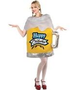 Beer Mug Costume Womens Happy Oktoberfest Tunic Adult Alcohol SZ 6-14 FM... - $57.99