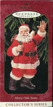 Hallmark Keepsake Ornament - Merry Olde Santa - Tenth In Series 1999 - $2.96
