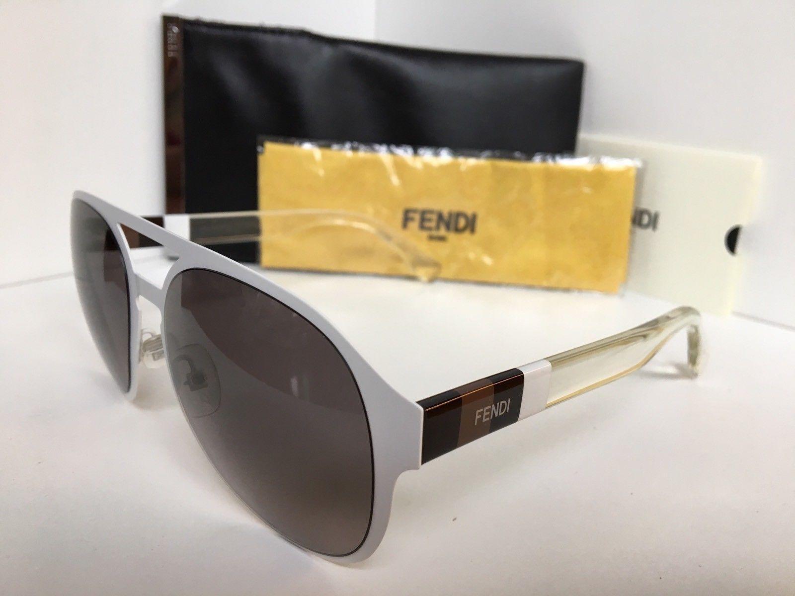 c2269a09b4b New FENDI FF 0082 S E2OEU 55mm White Clear and 50 similar items