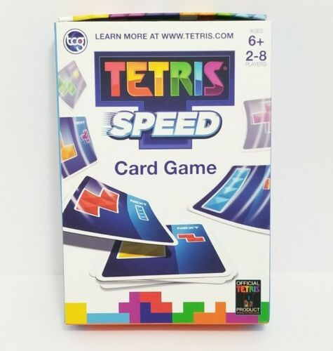 Tetris Speed Official Card Game