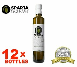 12x Best Olive Oil Extra Virgin - Greece Imported - Sparta Gourmet -16.9... - $89.09