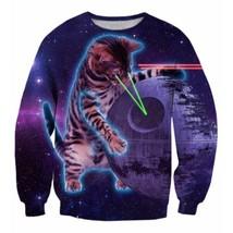 Space 3D Futuristic 3D Sweatshirt - $38.99