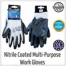 Nitril Handfläche Beschichtete Präzisions Schutz Sicherheit Arbeitshands... - $12.89+