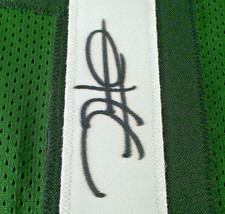 JALEN HURTS / AUTOGRAPHED PHILADELPHIA EAGLES GREEN CUSTOM JERSEY / PSA/DNA HOLO image 4