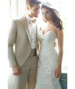 New High Quality Tuxedo Custom Made Men's Suit (Jacket+Pants+Tie) - $199.99