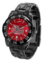 Arkansas State Red Wolves Mens Watch Fantom Gunmetal Finish Red Dial - $67.50
