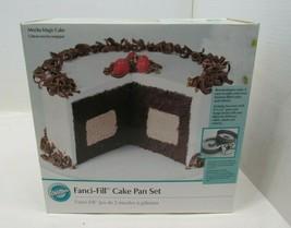 Wilton Fanci-Fill Cake Pan Set, New in Box 2105-150 - $24.70