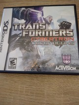 Nintendo DS Transformers: War For Cybertron Decepticons image 1