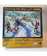 SunsOut Jigsaw Puzzle Clearing the Way New Holland Country Mary Thompson... - $17.09