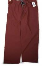 Scrubin Uniform Pants Size XL Burgundy/wine Scrubs - $23.28