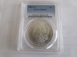 1883-CC , Morgan Dollar , PCGS , MS 65+ (65 Plus) - $695.00