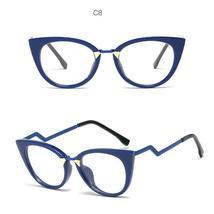 Ladies Optical Sexy Cat Eye Glasses Frames Women Brand Designer Eyeglasses Fashi image 11