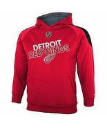 REEBOK DETROIT RED WINGS Performance Hoodie Sweatshirt NWT Youth Small S... - $23.99