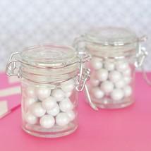 Blank Glass Jar with Swing Top Lid - MINI (Set of 50) - $86.95