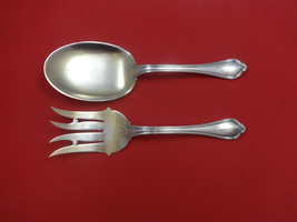 Paul Revere by Towle Sterling Silver Vegetable Serving Set 2pc Goldwashed - $289.00