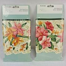 Waverly Garden Room Paradise Island Sage Decorative Wall Border 2 Packs ... - $37.99