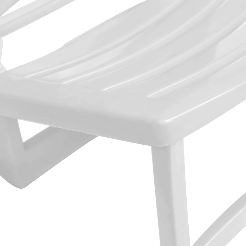 vidaXL 4x Folding Beach Chairs Plastic Beach Seat Outdoor Chair Multi Colors image 6