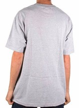 Primitive x Grizzly Griptape Skateboarding Mens Heather Grey Gripped T-Shirt NWT image 2