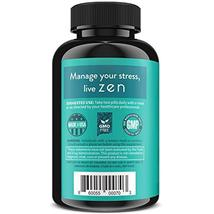 ZEN Premium Anxiety And Stress Relief Supplement - Natural Herbal Formula To & image 3