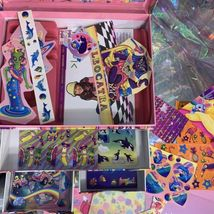 Vintage Lisa Frank Stationery Box Extras May Vary (better Stuff  image 10