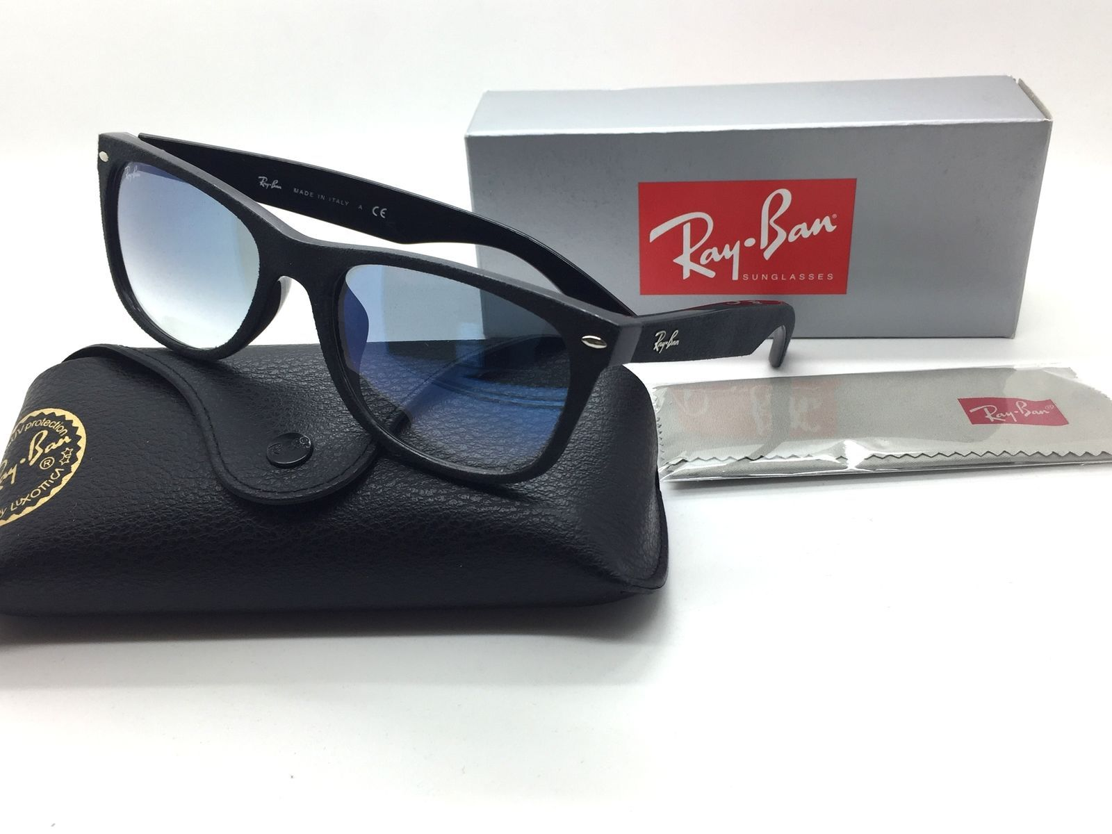 b4ab1b8f8b Ray Ban Black Square New Sunglasses RB 2132 and 50 similar items. S l1600