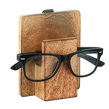 2 In 1 Wooden Spectacle | Stocking Stuffer | Spectacle Holder Eyeglass C... - $13.69